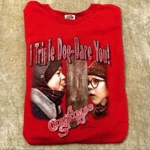 "Other - ""Triple Dog Dare"" Christmas T-shirt"